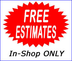 Estimates - In Shop Only
